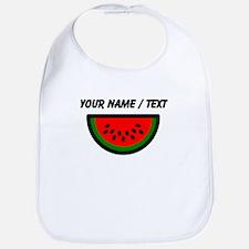 Custom Watermelon Bib