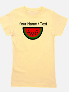 Custom Watermelon Girl's Tee