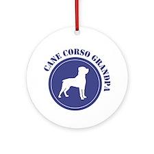 Corso Grandpa Ornament (Round)