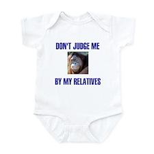 DON'T JUDGE ME Infant Bodysuit