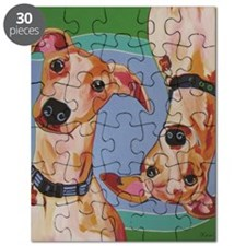 Wuz Up Whippets Puzzle
