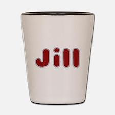 Jill Santa Fur Shot Glass