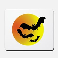 Bat Silhouettes Mousepad