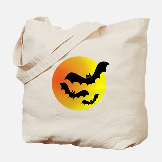 Bat Silhouettes Tote Bag
