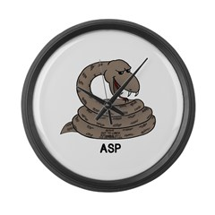 Asp Large Wall Clock