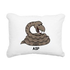 Asp Rectangular Canvas Pillow