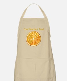 Custom Orange Slice Apron