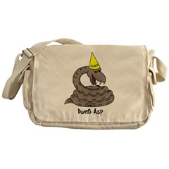 Dumb Asp Messenger Bag