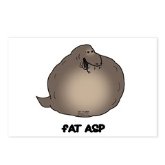 Fat Asp Postcards (Package of 8)