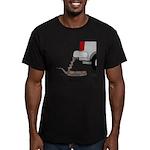 Jack Asp Men's Fitted T-Shirt (dark)