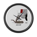 Jack Asp Large Wall Clock