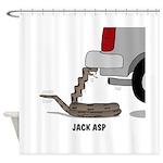 Jack Asp Shower Curtain