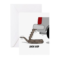 Jack Asp Greeting Cards (Pk of 10)