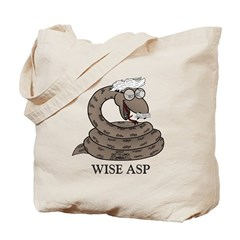 Wise Asp Tote Bag