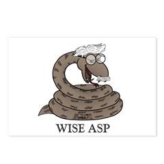 Wise Asp Postcards (Package of 8)