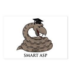Smart Asp Postcards (Package of 8)