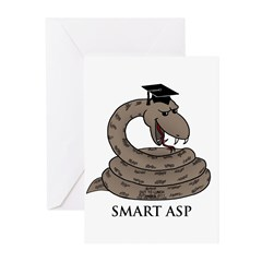 Smart Asp Greeting Cards (Pk of 10)