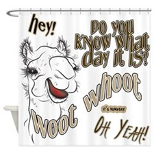 Hump Day OhYeah Camel Shower Curtain