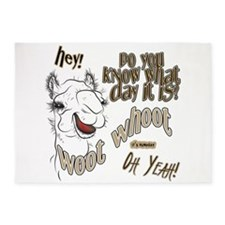 Hump Day OhYeah Camel 5'x7'Area Rug