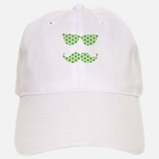 Irish Shamrocks Mustache Face Baseball Baseball Baseball Cap