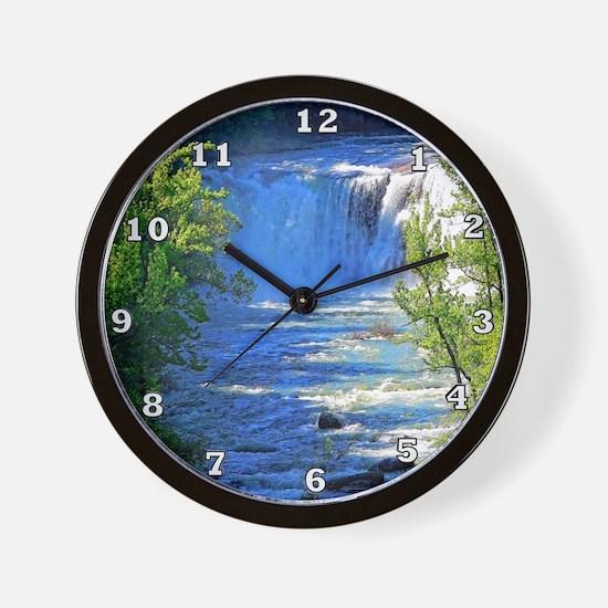 Little River Falls Wall Clock