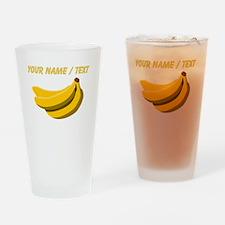 Custom Bunch Of Bananas Drinking Glass