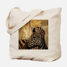 wild zebra safari Tote Bag