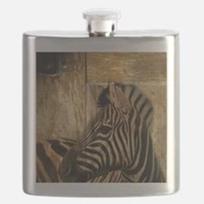 wild zebra safari Flask
