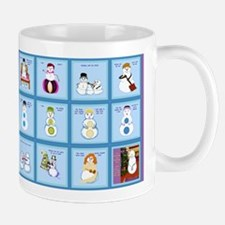 Snow Folks 5x7 Mugs