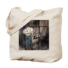 country cowboy boots Tote Bag