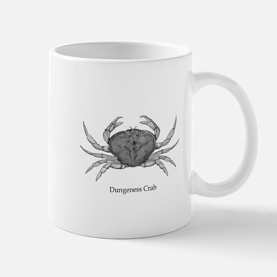 Dungeness Crab (line art) Mugs