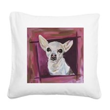 Chihuahua - Lexie Square Canvas Pillow