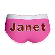 Janet Santa Fur Women's Boy Brief