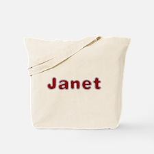 Janet Santa Fur Tote Bag