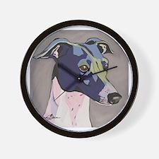 Italian Greyhound - Louie Wall Clock