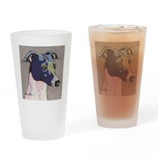 Italian Greyhound - Louie Drinking Glass