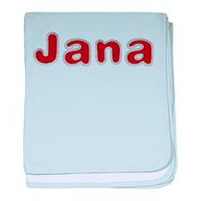 Jana Santa Fur baby blanket
