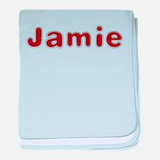 Jamie Santa Fur baby blanket