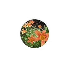 Tiger Lillies Mini Button