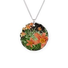 Tiger Lillies Necklace