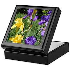 Iris's In Bloom Keepsake Box