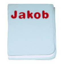 Jakob Santa Fur baby blanket