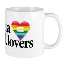 Virginia is for all lovers blk font Mugs