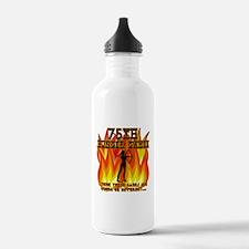 75th Hunger Games Girl on Fire Water Bottle