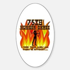 75th Hunger Games Girl on Fire Decal