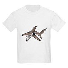 Cartoon Hammerhead Shark T-Shirt