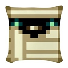 Mummy Woven Throw Pillow