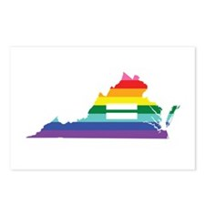 Virginia equality Postcards (Package of 8)