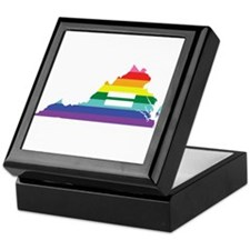 Virginia equality Keepsake Box
