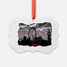 Black London Ornament